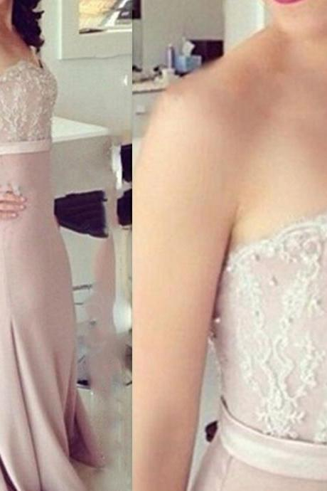 Free Shipping Mermaid Lace Prom Dress,Sweetheart Lace Graduation Dress,Mermaid Lace Party Dress