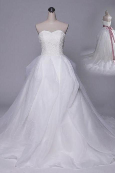 A-line Wedding Dresses,Sweetheart Bridal Dress,Lace Wedding Gowns,Colorful Wedding Dresses